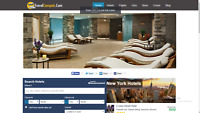 Best Automated Hotel and Travel Website Free Installation+ Free Hosting + logo