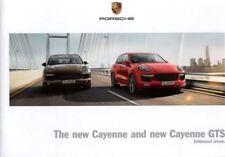 Porsche Cayenne/Cayenne GTS japón brochure/folleto 2014/2015