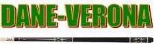 Stecca Professionale da Pool CUETEC CR-1 Nera in Fibra di Vetro/Acero