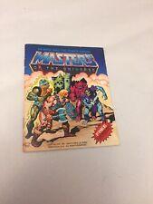 HTF Masters of the Universe  MOTU-He-man and the Power Sword mini comic book .