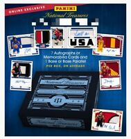2020 Panini National Treasures Collegiate Basketball Hobby Box
