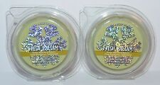 LOT OF 2 BATH & BODY WORKS FRESH BALSAM WAX MELTS TART WHITE BARN CANDLE WARMER
