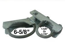 "Chain Link Gate Hinge - 180 Degree Hinge - Commercial Gate Hardware (6-5/8"")"