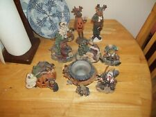 Lot Of 9 Collections Of 9 Boyds Bears. And Friends