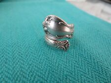 VINTAGE TOWLE STERLING SPOON RING SZ 6 VERY FINE RING