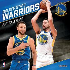2021 NBA Golden State Warriors Basketball Square Wall Calendar by Lang