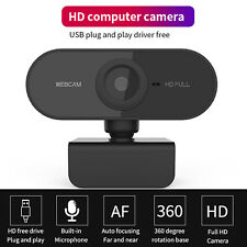 Full HD 1080P 200W Webcam USB Video Camera With Microphone For PC Laptop J2R3