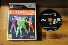 Jeu JUST DANCE 2 pour Nintendo Wii PAL SANS NOTICE (CD OK)