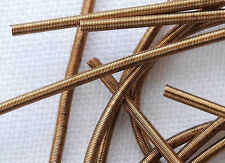 Rough Purl Light Bronze Bullion for Metal Thread Embroidery DIY Sewing