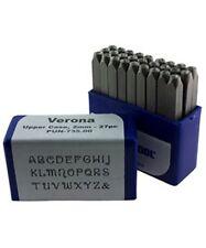 Verona Upper Case Letter Punch Set 2mm 27pcs Eurotool