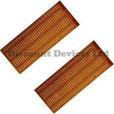 2x 50x100mm Baquelita 1.2 Mm Solo lado Cobre prototipo Pcb matrix/strip Board