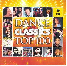 Dance Classics Top 100 5-CD Box Donna Summer, Pebbles, Thelma Houston, Meco 2006