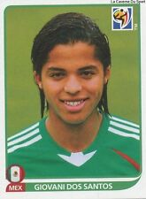N°061 GIOVANI DOS SANTOS # MEXICO STICKER PANINI WORLD CUP SOUTH AFRICA 2010