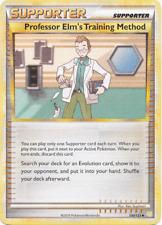 Professor Elm's Training Method 100/123 HeartGold SoulSilver PER MINT! Pokemon