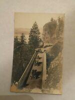 Vintage Shepherds Dell Columbia River Highway Oregon RPPC Postcard