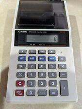 Vintage Casio HR-8A Mini Printer Calculator w/ AC Adapter