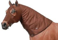 Tough-1 XSmall Dark Brown LycraFlex Neck Cover Horse Tack Equine