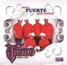 NEW - Mas Fuerte Que Nunca by El Trono De Mexico