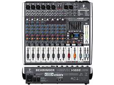 BEHRINGER X1222USB MIXER CON USB ED EFFETTI PER VOCE A 24 BIT