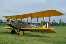 Curtiss JN-4 Jenny Biplane Trainer Aircraft Mahogany Wood Model Small New