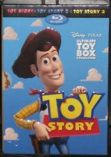 Toy Story Trilogy Box (Blu-ray/DVD, 2010, 10-Disc Set, Digital Copy) Disney