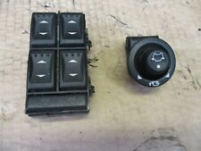 Ford Mondeo MK3 Drivers side Window & Mirror Switches