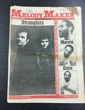 Melody Maker: Stranglers, Marvin Gaye, Bill Wyman, UB40, 21st February 1981