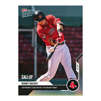 Bobby Dalbec - RC Call up - Red Sox 1st HR  2020  TOPPS NOW  #181