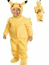 Pokemon PIKACHU Go Costume size 2T- 4T Toddler child 1-2 Years Halloween New
