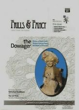 1:12 scale Miniature Doll Art FRILLS & FANCY MAGAZINE ISSUE #1 (2012) Dana's!