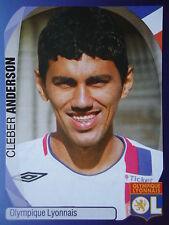 PANINI 219 Cleber Anderson Olympique Lyonnais UEFA CL 2007/08