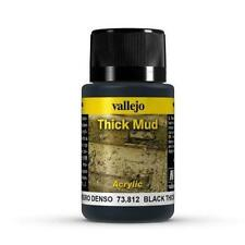 Vallejo Black Thick Mud Model Paint Kit VAL 73812