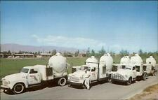 Arrow Searchlight Search Light Trucks c1950s Postcard