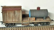 Vintage Ulrich Track Cleaner MOW Work Train Tank Car, Weathered, All Original