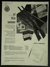 AYA 12 Bore Sidelock Ejector Gun 1963 1 Page Advertisement