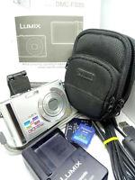 Panasonic LUMIX DMC-FS20 10MP 10 Megapixels Digital Camera - Silver LEICA - OIS