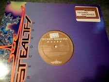 """Techno Grooves Mach 9 12"""" EP REL Lungo Holland Stealth Records 7794 NM"""