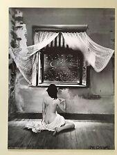 JAN SAUDEK,'LA NUIT' AUTHENTIC 2003 ART PHOTO PRINT