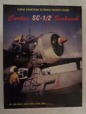 Curtiss SC-1/2 Seahawk by Ginter - BW Photos & Diagrams