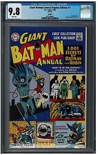 GIANT BATMAN ANNUAL Replica Edition #1 CGC 9.8 (1999) DC Reprint white pages