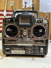 FUTABA T6 XA  S  T6XAS Channel 50 Great Condition With Charger No Bat