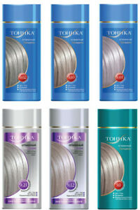 Hair Colouring,Tinting Tonic  balm for a  hair of 150 ml No AMMONIA!!!
