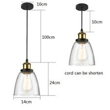 Glass Pendant Light Modern Ceiling Lights Bar Lamp Kitchen Chandelier Lighting