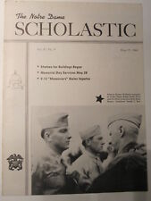 The Notre Dame Scholastic May 19, 1944