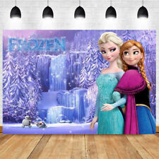Princess Photography Backdrop Birthday Party Girls Photo Background Prop Decor