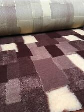 VET BED NON-SLIP BROWN PATCHWORK 1m X 1.52m