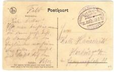 Netherlands Indies MILITARY-1915-postcard view-SCARCE