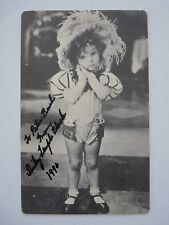 Shirley Temple Signed Autographed 5x8 Photo Postcard PSA or Beckett Guaranteed