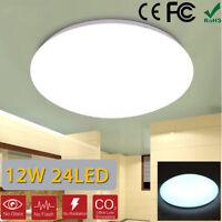 12W 6400K 24 LED LAMPARA LUZ TECHO LLUMINACION PLAFON LIGHT SALON COMEDOR