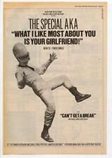 Special AKA What I Like Most About You Is Your Girl Advert NME Cutting 1984
